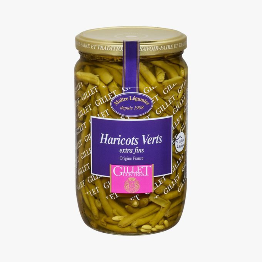 Haricots verts extra fins (72cl)