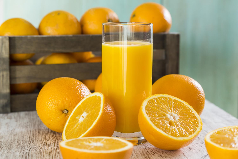 Orange pour le jus